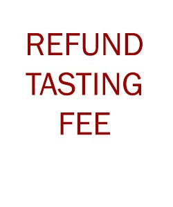 REFUNDED TASTING FEE